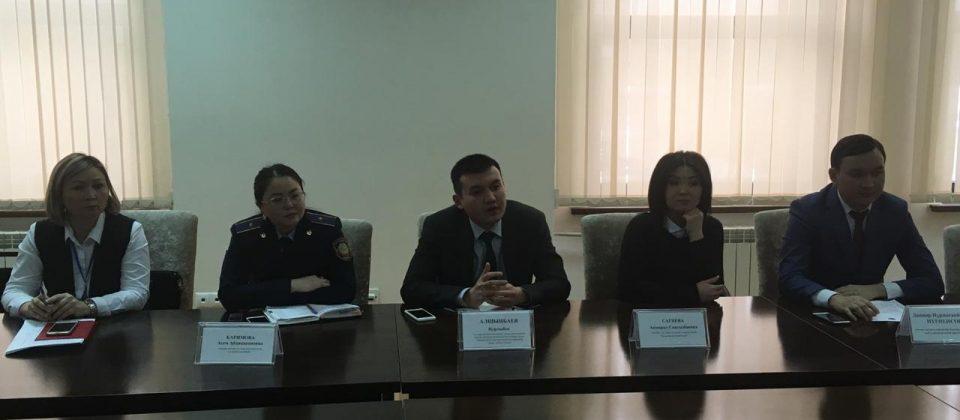 КГУ «Центр занятости населения города Астаны» организовало встречу со специалистами государственных органов и представителями 26 предприятий и организаций